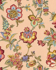 Left Bank - Folk Flower Splendor - Blush Pink
