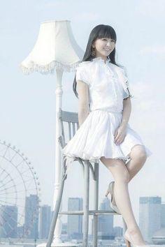Kasuka na Kaori J Pop, Girl Bands, Perfume Jpop, Idol, Girls In Mini Skirts, Music Images, Japan Girl, Little White Dresses, Cute Woman