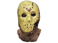 From Friday the 13th part 7 ''The New Blood'' comes this horrific creation of Jason. All latex overhead mask with removable PVC Hockey Mask. Collector's quality.