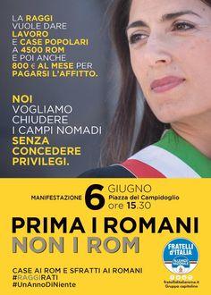 Attenzione Domani manifestazione  in piazza del Campidoglio alle ore 15.30 CASE AI ROM SFRATTI AI ROMANI #RAGGIRATI   Non mancare e condividi!