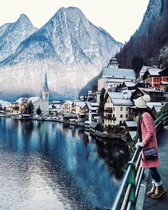 10 day road trip thru Switzerland, Germany, and Austria (this is hallstatt, austria)