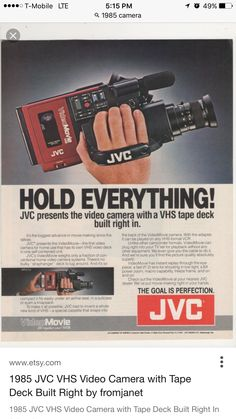 Yep I always made sure I had extra VHS tapes to use. Dang I so don't regret my past.
