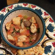 Rustic Tuscan Soup with Kale Allrecipes.com
