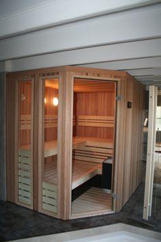 Design sauna, ontwerp en realisatie door Bubbels & Jets