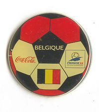 1998 WORLD CUP COCA COLA BELGIUM FLAG ON SOCCER BALL NEW IN BAGS