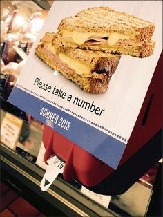 Everybody's got to take a number, so what better spot for in-store advertising and cross merchandising than the Queue Ticket Dispenser? Leading the pack as always, Wegmans® stakes a claim to this p...