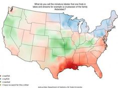 22 Maps That Show How Americans Speak English Totally Differently From Each other. Regional accents are a major part of what makes American English so interesting as a dialect. American English, American History, Alphabet, Studyblr, Cartography, English Language, Social Studies, Family History, Fun Facts