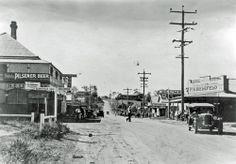 Edmond Street looking east, Marburg, 1920