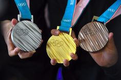 How Many Medals Team USA Has Won in the Winter Olympic Games — The Final Olympic Medal Count 2018 Winter Olympic Games, 2018 Winter Olympics, Winter Games, Vieux Telephone Portable, Go Usa, Trophy Design, Women's Hockey, Olympic Gold Medals, Olympic Committee
