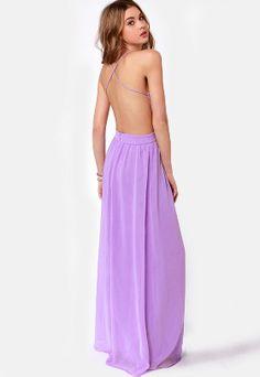 Vestido largo correa de espagueti-violeta EUR€28.98