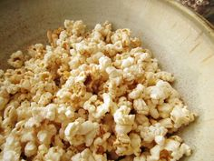* She Makes a Home *: Cinnamon & Brown Sugar Popcorn - from scratch!