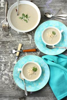 Thai Coconut Curry Soup ~ Food Fashion Party