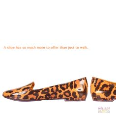 A shoe has so much more to offer than just to walk.