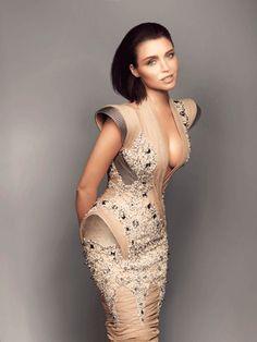 Noni Smith #editorial  #makeup #Dannii Minogue - in J'aton