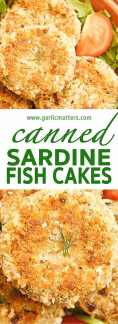 Easy, Canned Sardine Fish Cakes are packed with omega-3 healthy fat, Vitamin B12 & protein - 30 min mouthwatering super-food combo!