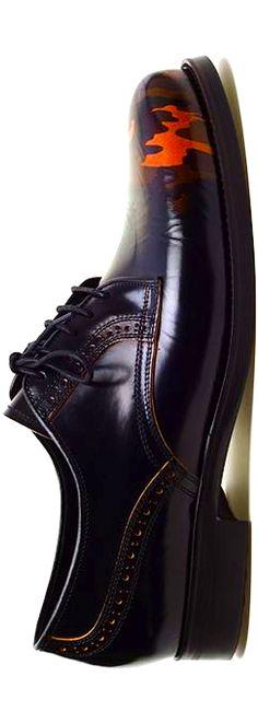 Shoes with camo toe design #Mens
