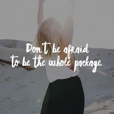 Half the time we don't even pursue our dreams because we are afraid of them actually coming TRUE. https://multibra.in/c2ht4