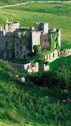 Clifden Castle ~ Connemara region of County Galway, Ireland