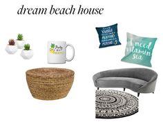 """Sin título #64"" by aliss-15 on Polyvore featuring interior, interiors, interior design, hogar, home decor, interior decorating, Eichholtz, Kosas Home y One Bella Casa"
