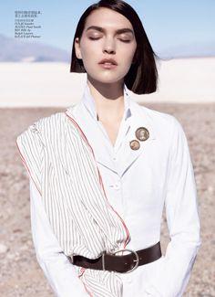 Arizona Muse by Josh Olins for Vogue China May 2012