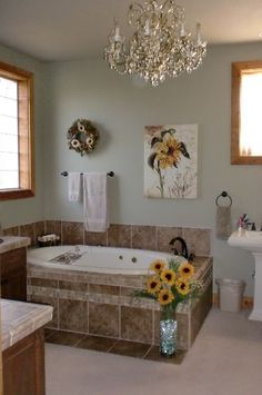 Bathroom With Jacuzzi 34 Pic On Master bath with