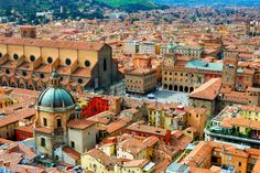 Beautiful Bologna, home to the oldest university in Europe, medieval towers, Renaissance-era palaces, and excellent food. Just one reason to love Emilia-Romagna! ~ Missing it!