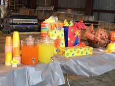 3 year old's construction themed birthday party. Created by Sixpence Event Co. Birmingham, AL.