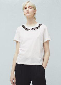 T-shirt - T-shirts for Woman | MANGO