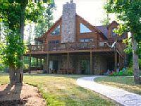 Deer Beach Lodge - Custom Log Home With 2 Master Bedrooms - VacationRentals.com