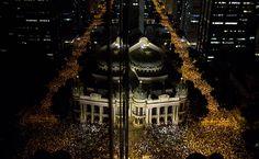 Folha de S.Paulo - Fotografia - Cotidiano - Melhores fotos dos protestos - 17 de junho - 18/06/2013