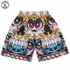 Yx Girl Newest Skull Flowers Printing Shorts Men Women Bottoms Summer Shorts 2018 Casual Beach Shorts Unisex Short Pants Low Price Men's Clothing