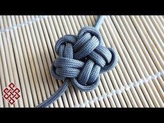 How to Tie a Paracord Star Knot Tutorial - YouTube