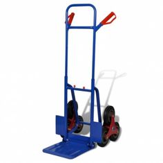 Trolley 6 Wheels Stair Red Blue 200 kg    Grab this Budget Item. At Luxury Home Brands WE always Find Great Stuff for you :)