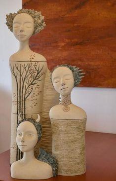 Figure head ceramic sculpture The post Figure head ceramic sculpture appeared first on Trendy. Paper Mache Sculpture, Pottery Sculpture, Pottery Art, Sculpture Art, Ceramic Sculpture Figurative, Ceramic Mask, Ceramic Angels, Ceramic Figures, Paperclay