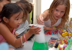 Mad Science Birthday Party. This blog has some great ideas!