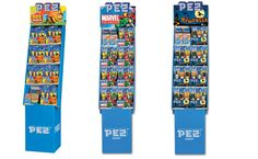 Pez In-Store Displays - Graphish has created numerous displays to showcase Pez's consumer products. #graphish #pez #candy #instore #promotion #display #packaging