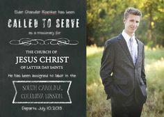 Grad or LDS Mission Announcement