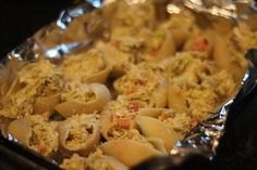 The Chronicles of Ruthie Hart: Pesto Chicken Stuffed Shells