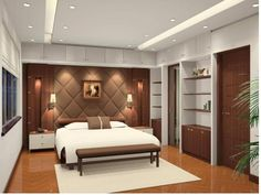 Bedroom wall panels imitation wood decorations
