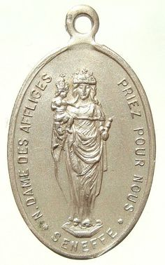 Our Lady of Afflicted Miraculous Medal on 18 by CherishedSaints, $58.00