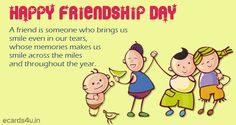 ecards4u provides happy friendship day 2015 quotes, friendship day image, friendship day pictures, friendship day greetings, images of friendship day, happy friendship day wallpapers Friendship Day Greetings, Friendship Sms, Happy Friendship Day, Friendship Day Pictures, Friendship Day Wallpaper, Happy Quotes, Life Quotes, 2015 Quotes, Greetings Images