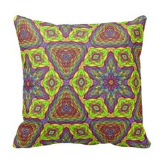 Modern trendy pattern pillow