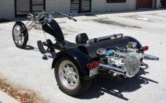 Handicap Fitment on a Trike for Disabled Rider Vw Trike, Trike Kits, Trike Motorcycle, Motorcycle Style, Vintage Bikes, Sidecar, Old Trucks, Custom Bikes, Stunts