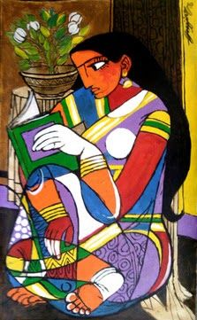 Reading by B.G. Gujjarappa born 1955 in Karnataka, India