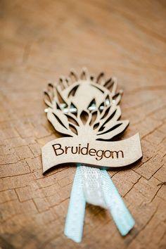 Bruidegom laser cut