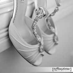 Wedding Shoes   Wedding Rings    Tiffany Boone Photography