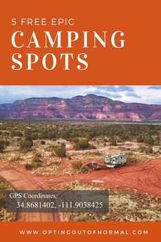5 Epic Free Camping Spots - Opting Out of Normal Camping Spots, Tent Camping, Campsite, Outdoor Camping, Glamping, Camping Storage, Utah Camping, Camping Outdoors, Camping Essentials