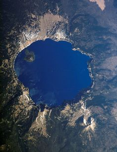 Deepest Lake in North America, Crater Lake, Oregon