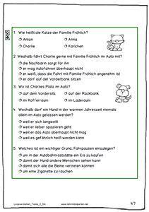 neue lesetexte f252r die 1 bis 6 klasse schule