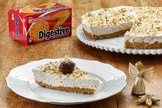 """Τάρτα με κάστανα και μπισκότα """"Digestive"""" ΠΑΠΑΔΟΠΟΥΛΟΥ"""